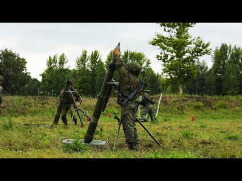 Учения Ульяновского десантно-штурмового