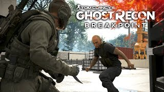 Ghost Recon Breakpoint | *No Hud* Stealth and Gun Combat