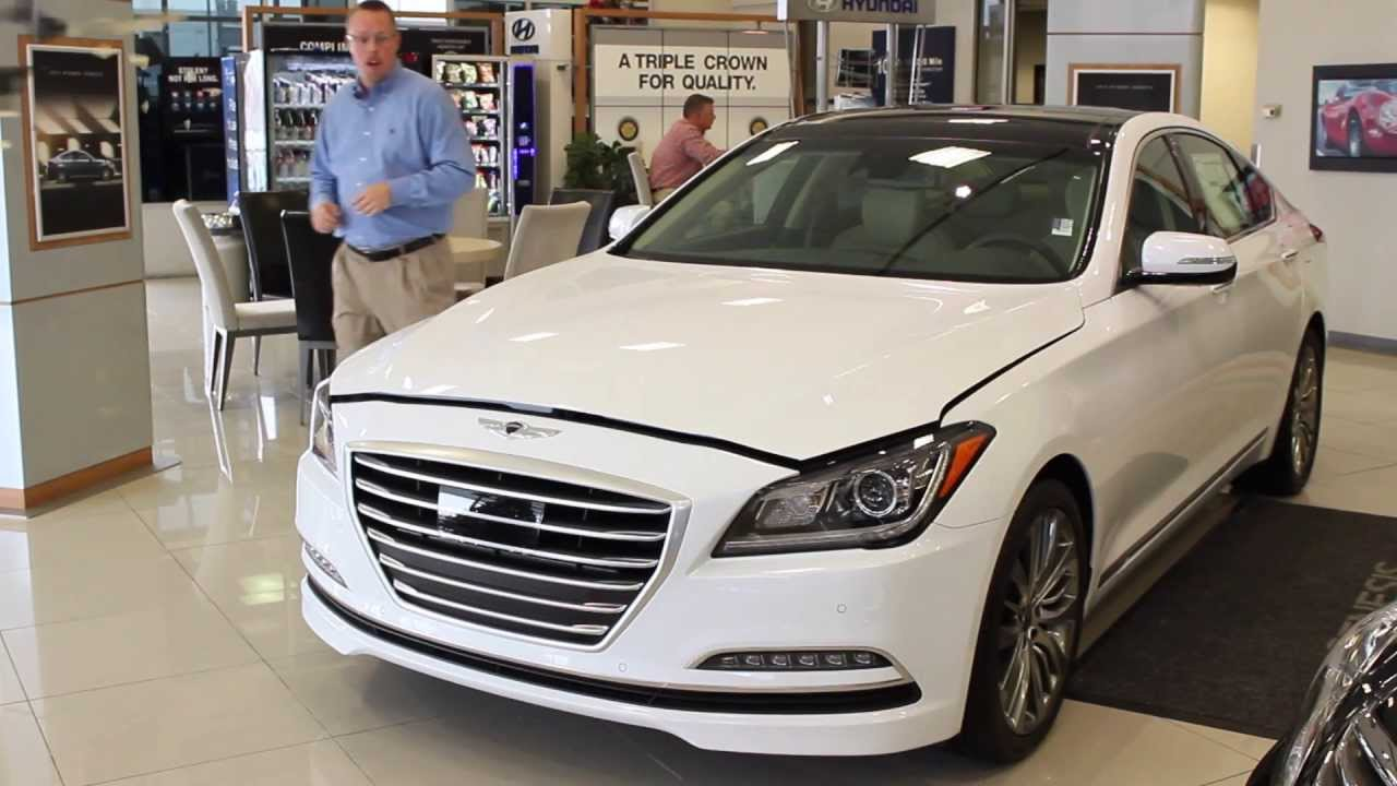 2015 hyundai genesis sedan in oklahoma city vs bmw 5. Black Bedroom Furniture Sets. Home Design Ideas