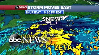 Hurricane Zeta tears through the South as its remnants now move North