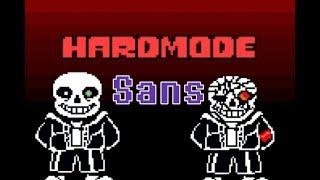 No Item Hardmode Sans full battle phase 1-5. Undertale Fan-Game