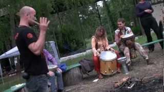 Мастер-класс по игре на африканском барабане