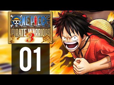 One Piece Pirate Warriors 3 - Gameplay Walkthrough Part 1 - Roronoa Zoro (PS4)