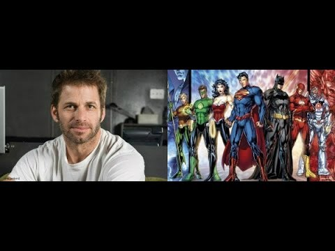 Justice League directed by Zack Snyder: 2017!!!