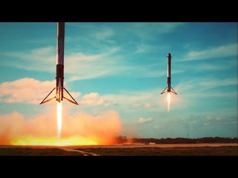 SpaceX Falcon Heavy- Elon Musk's Engineering Masterpiece [Up