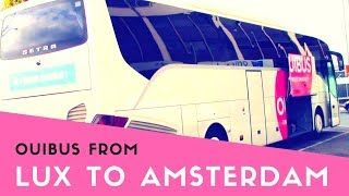 Bus from Luxembourg to Amsterdam