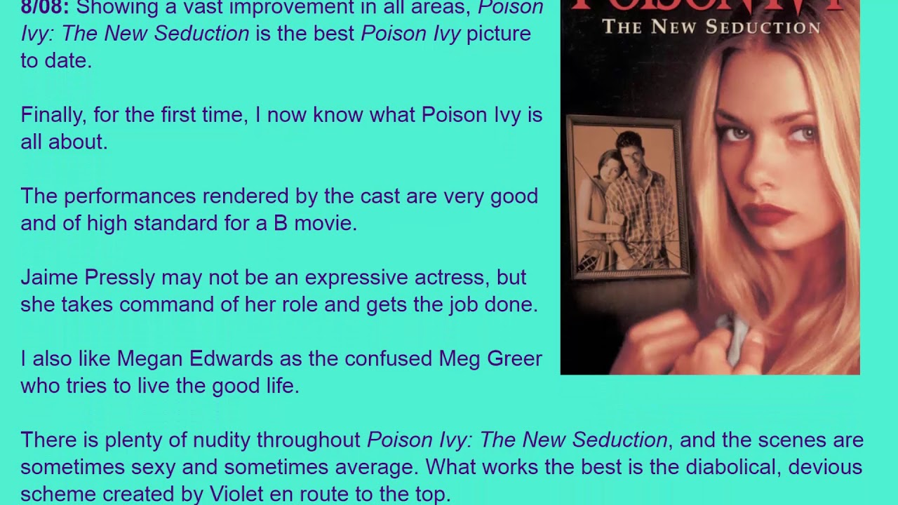 Poison ivy new seduction full movie