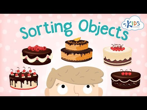 How To Sort Objects for Kids | Sorting & Matching Games for Children | Kids Academy
