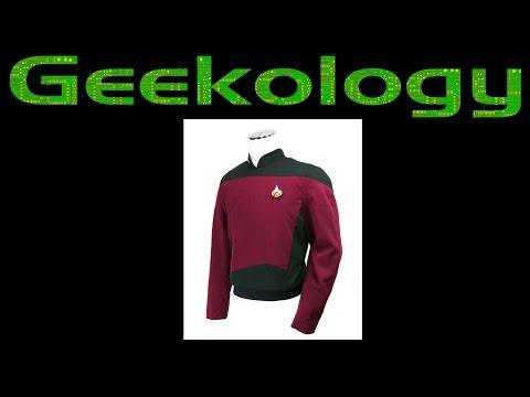 Geekology s4e27: A look at Star Trek Starfleet uniforms