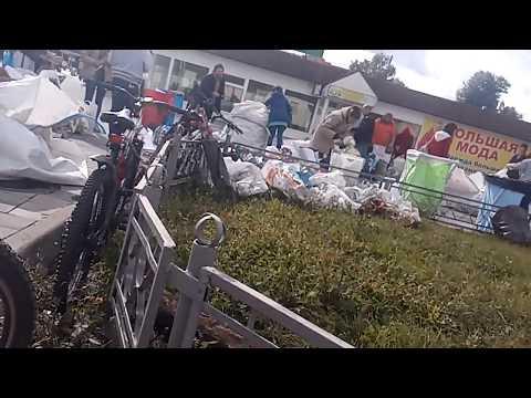 Быково. Акция по раздельному сбору мусора
