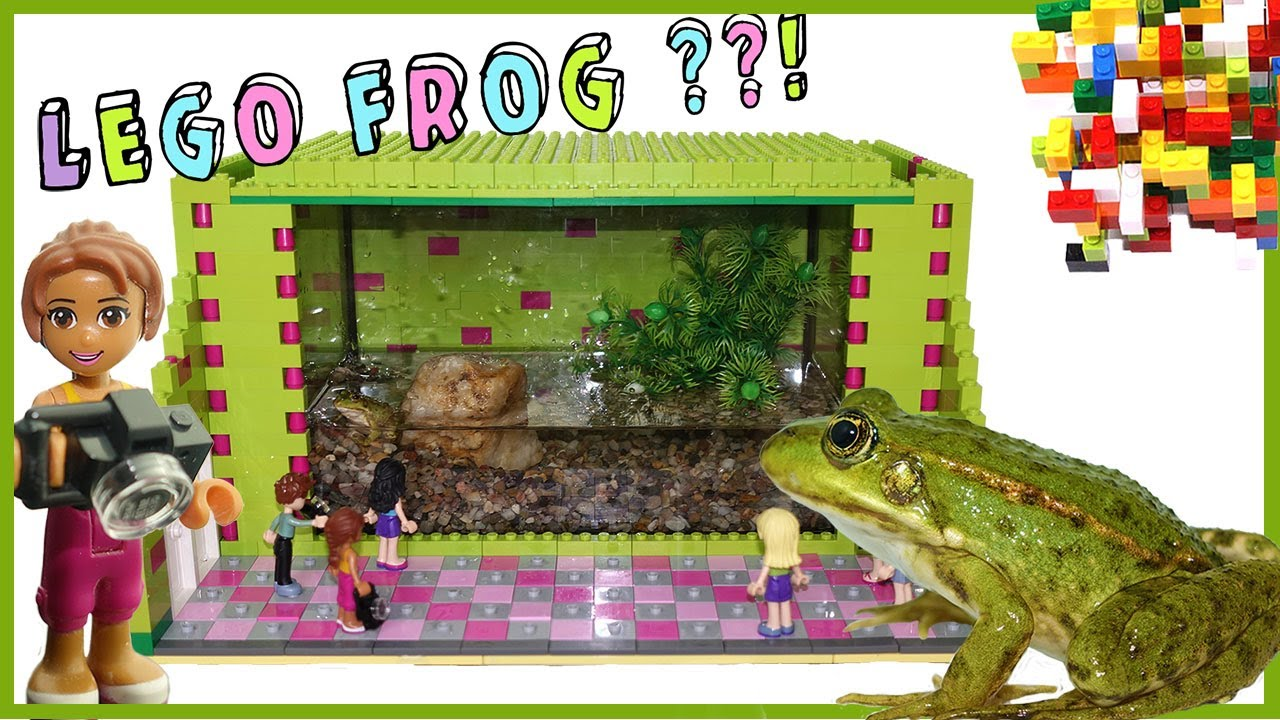 Download Lego Friends -  Green Frog World Aquarium by Misty Brick.
