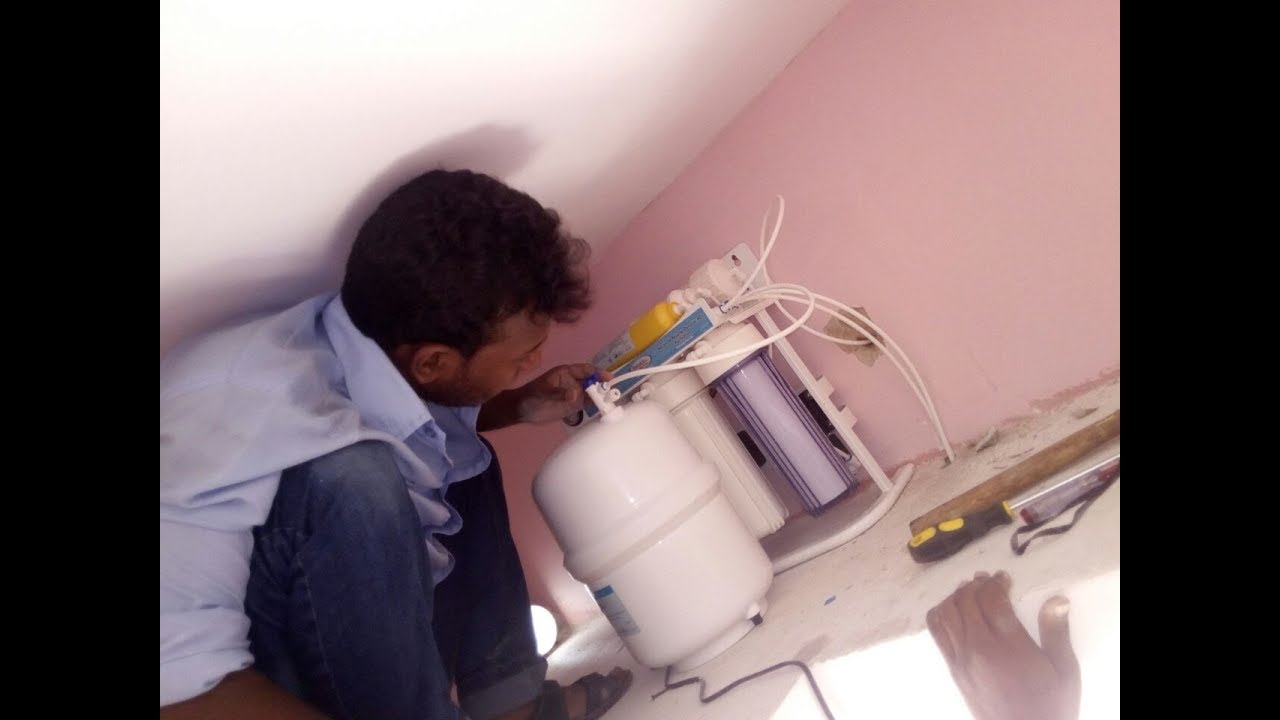 How To Install Drinkit RO Water Purifier