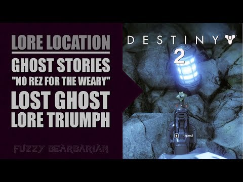 "DESTINY 2 - Ghost Stories ""No Rez for the Weary"" Lore Triumph 
