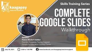 Complete Google Slides Walkthrough
