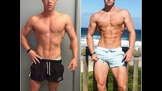 12-6/7% Body fat percentage 1 month - Fat loss motivation; ft Jeff Seid Steve Cook