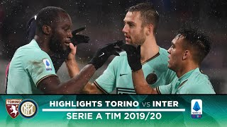 TORINO 0-3 INTER | HIGHLIGHTS | Lautaro, De Vrij and Lukaku score in the rain! 🌧⚫🔵