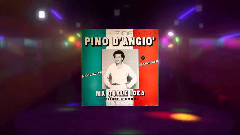 Pino D Angiò Ma Quale Idea Maxi Extended Rework Jay Airiness Edit 1980 Hq Youtube