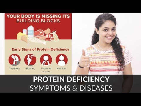 Protein Deficiency Symptoms | Protein Deficiency Diseases | Protein Deficiency Side Effects
