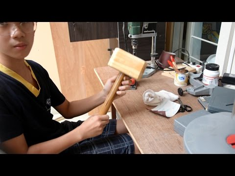 Tutorial: Wooden Mjolnir (Thors hammer)