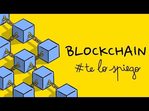 CHE COS'È E COME FUNZIONA UNA BLOCKCHAIN | #TELOSPIEGO