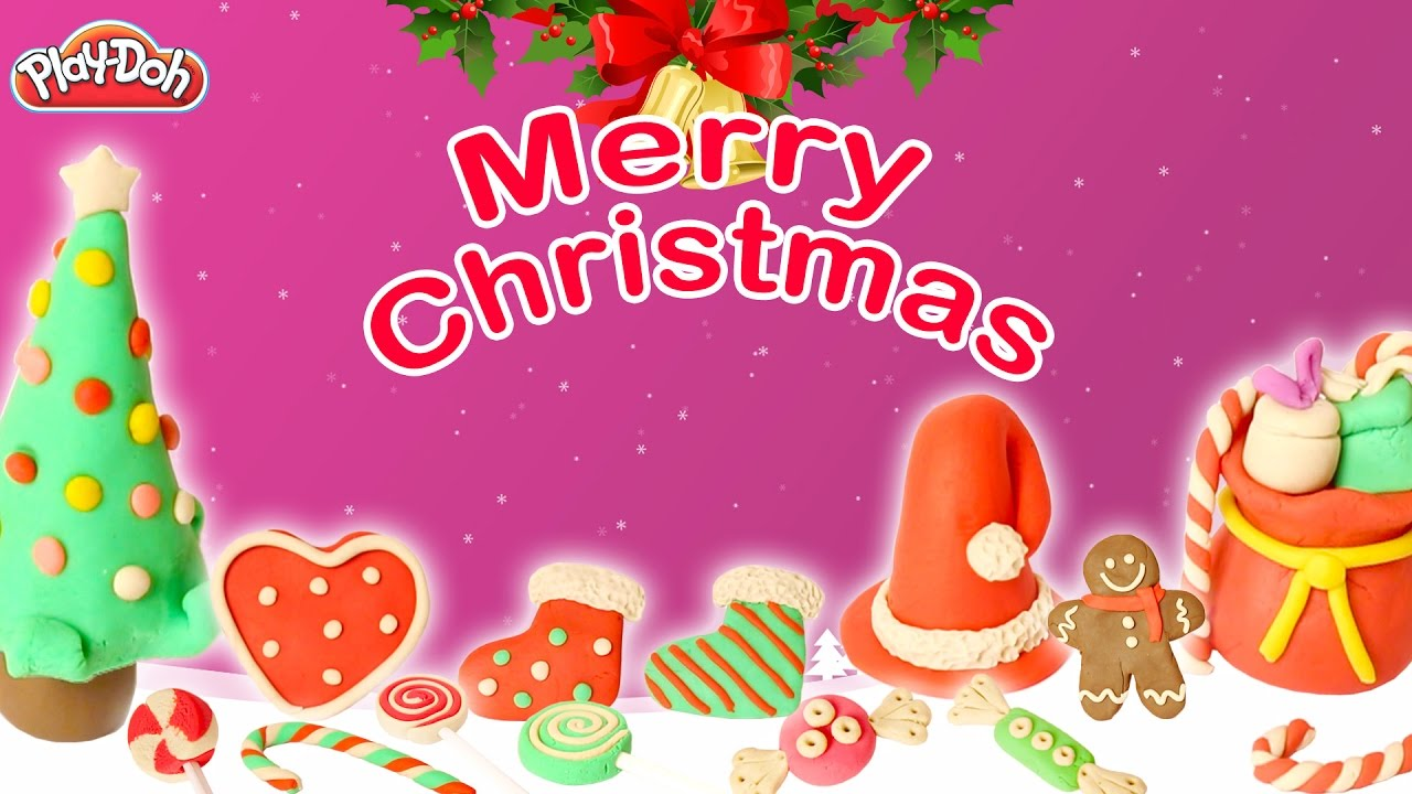 Play Doh Christmas Special For Childrens | Christmas Play Doh ...