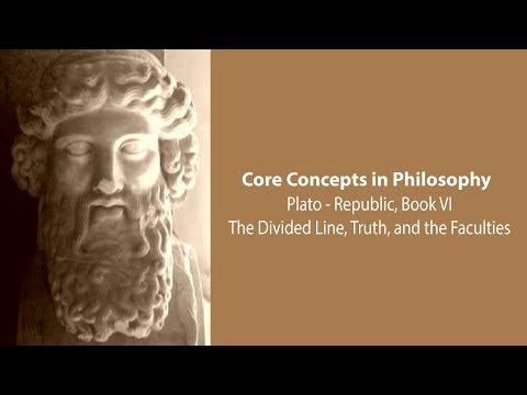 Plato's Republic Book 6 | The Divided Line, Truth, And The Faculties | Philosophy Core Concepts