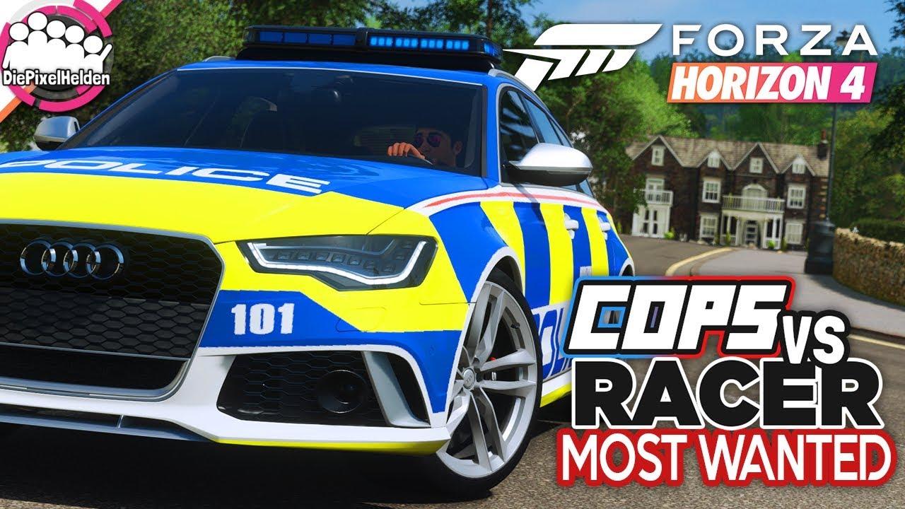 FORZA HORIZON 4 - COPS vs RACER Most Wanted : Alle gegen Einen! - Forza Horizon 4 MULTIPLAYER