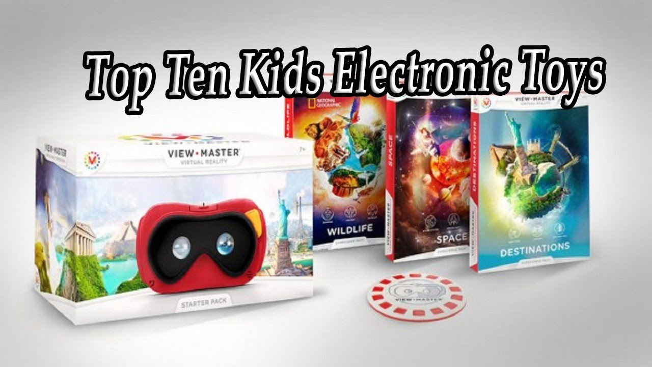 Popular electronic toys