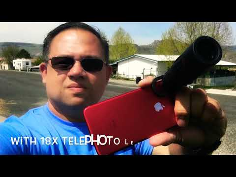 In Depth Review | Apexel 4 in 1 | 18x Smartphone Telephoto Lens Kit
