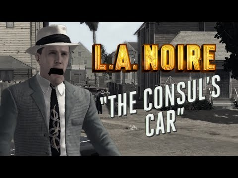 THE FAST AND THE CURIOUS - L.A. Noire Gameplay Part 3