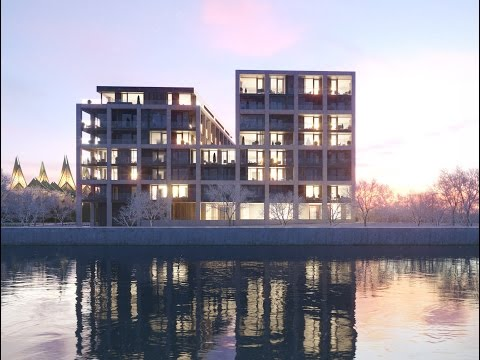 SCHELDE 21 by Vincent Van Duysen Architects | Residential Building Animation in Antwerpen
