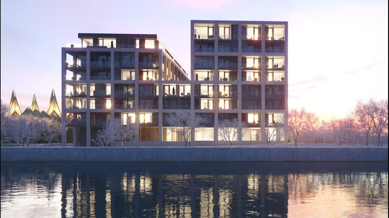 SCHELDE 21 by Vincent Van Duysen Architects Residential