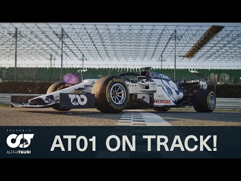KICKING OFF F1 2020   The AT01 Hits The Track