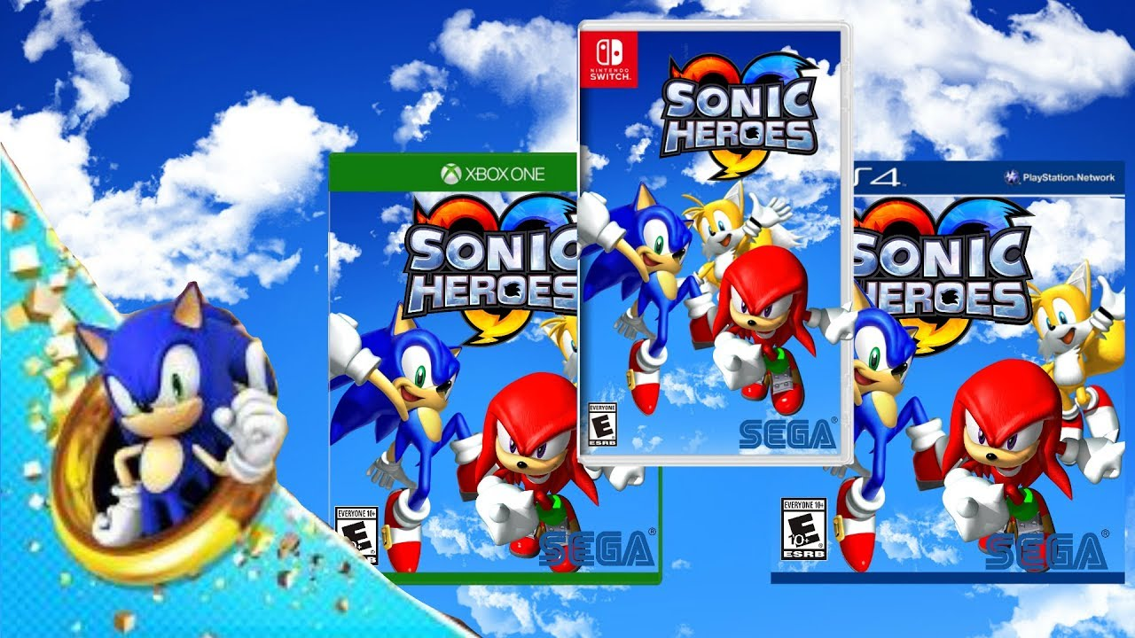Sonic Heroes Hd Release Date Trailer Ps4 Xbox One Nintendo Switch Fan Made Youtube