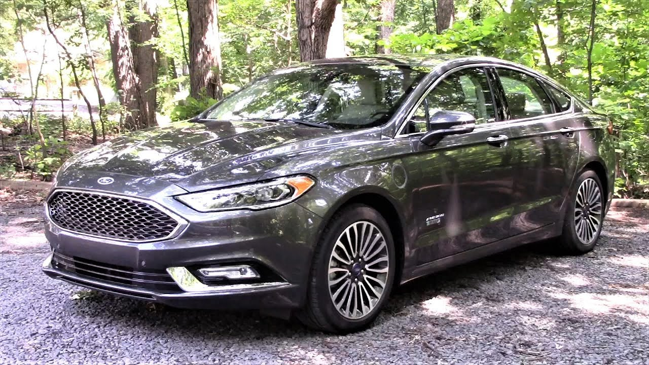 Ford Fusion Plug In Energi Electric Hybrid Platinum Road Test Review By Drivin Ivan