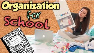 How to get Organized for School! Thumbnail