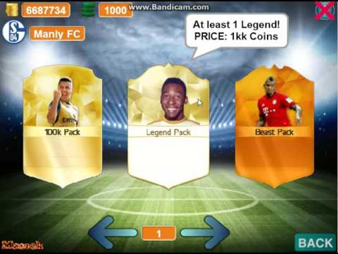 10 Million Coin Pack Opening On Scratch fifa 16!!!