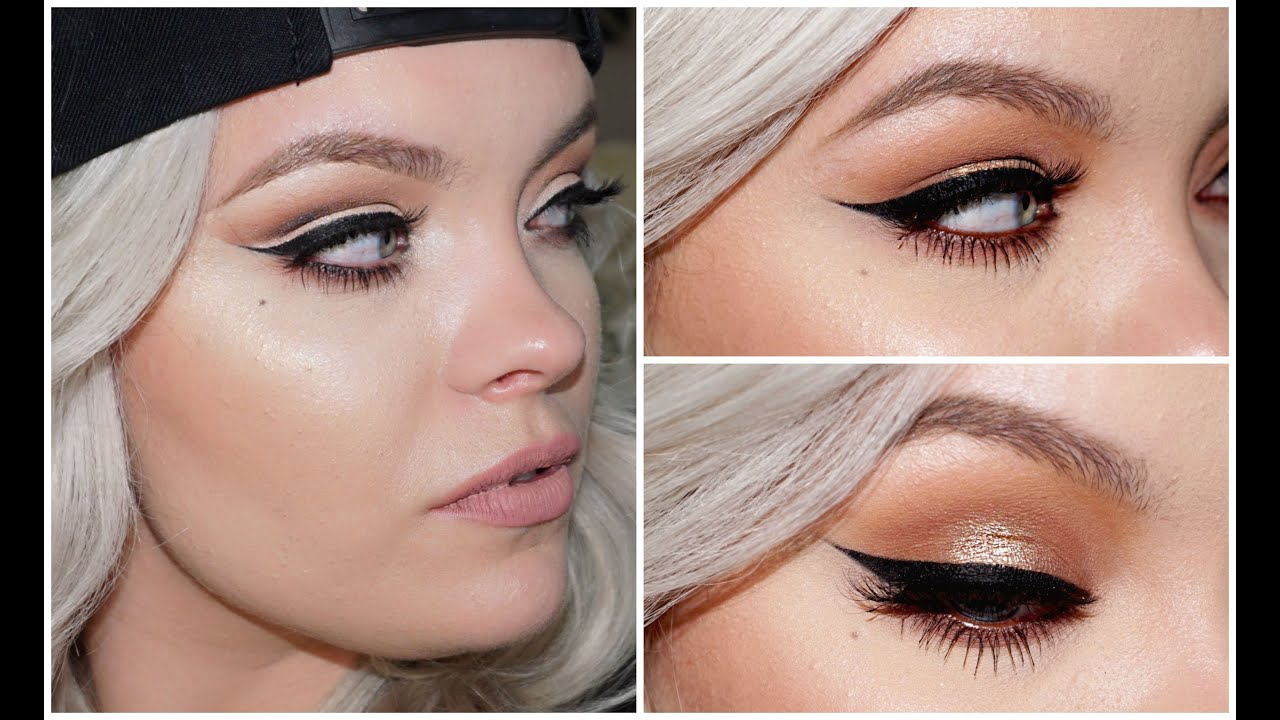Get your wing on fleek winged eyeliner tutorial brianna fox get your wing on fleek winged eyeliner tutorial brianna fox youtube baditri Image collections