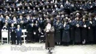 Bobov Wedding Grandchild of Bobover Rebbe Zt