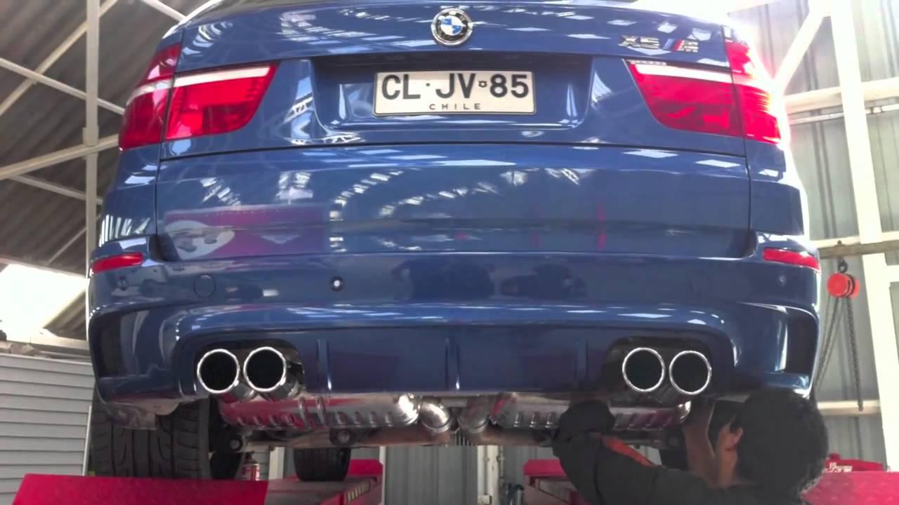 BMW X5M Eisenmann Exhaust