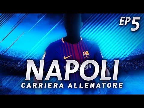 ARRIVA SUAREZ DAL BARCELLONA! CALCIOMERCATO! | CARRIERA ALLENATORE NAPOLI EP.5 | FIFA 18 [ITA]