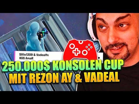 QUALIFIZIERT mit Konsole?   250.000$ KONSOLEN CUP mit rezon ay & Vadeal