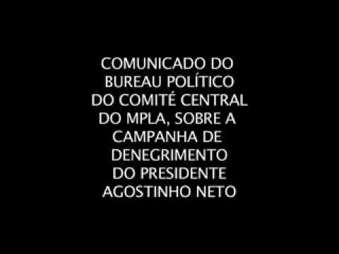 Comunicado do Bureau Político do Comité Central do MPLA