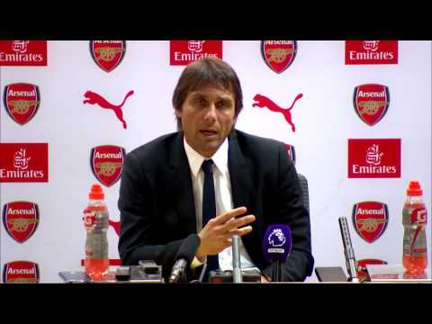 Arsenal v Chelsea - Conte's post match press conference