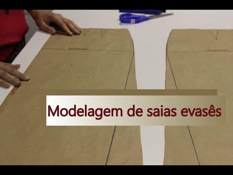 como-modelar-dois-tipos-de-saia-evasê