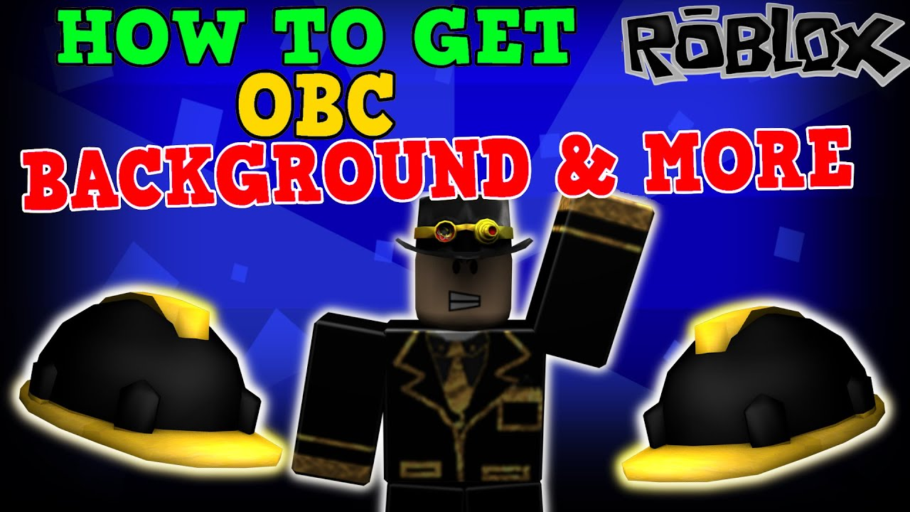 Roblox How To Get Obc Background More Youtube