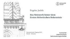 Engeler - Das Netzwerk hinter dem Ersten Helvetischen Bekenntnis