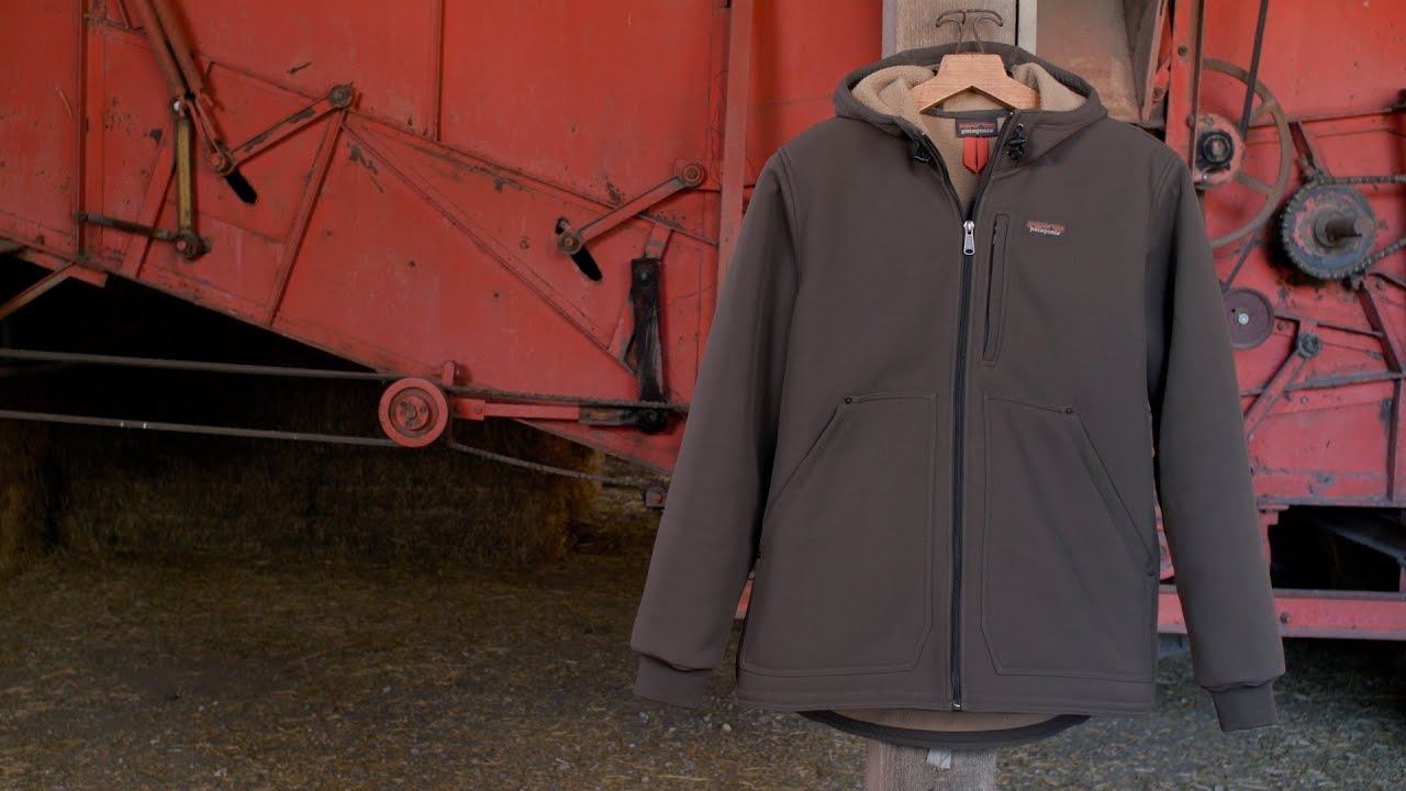Hooded Men's Soft Work Jacket Man Burly Patagonia Shell YyIg7f6bv