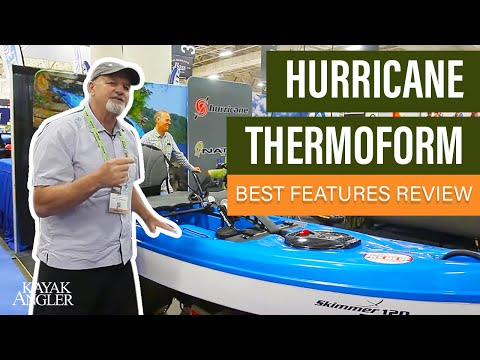 Hurricane Thermoform Fishing Kayak | Kayak Angler | Rapid Media