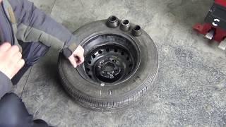 Правильная балансировка колеса